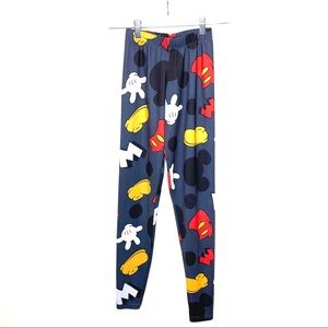 Disney Mickey Mouse Leggings Youth XS